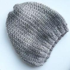 Tuto cap point of net. - The factory of Mila - vest Newborn Crochet Patterns, Knitting Patterns Free, Free Knitting, Baby Knitting, Crochet Baby, Free Pattern, Knit Crochet, French Hat, Owl Hat