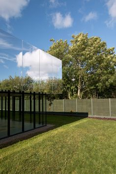 """SATA's Medical Centre Has Mirrored """"cloaking"""" Roof That Reflects The Sky - http://www.2014interiorideas.com/hairstyle-ideas/satas-medical-centre-has-mirrored-cloaking-roof-that-reflects-the-sky.html"""