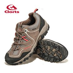 Clorts Men Hiking Boots Hot Sale Waterproof Uneebtex Hiking Shoes Genuine  Leather Outdoor Sneakers for Men 820eb8342e5