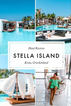 Stella Island Luxury Resort & Spa, Kreta At the end of August 2017 we stayed in Crete for a week Honeymoon Cruise, Honeymoon Destinations, Holiday Destinations, Honeymoon Island, Creta, Pet Resort, Resort Spa, Small Luxury Hotels, Luxury Travel