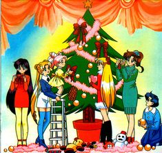 Merry Christmas and Happy Holidays to All sailor moon fans!!!!