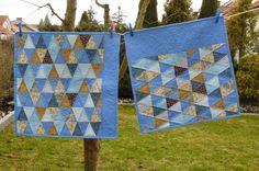 cOto.patchwork: Niebieskie trójkąty