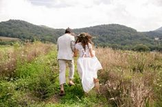 Free-Spirited Grandfather Mountain Wedding