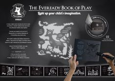 """Eveready Book of Play"" Torchlights & Batteries Energizer Malaysia"