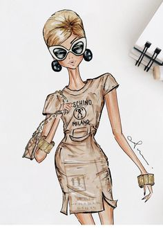 Moschino fall 2017 #cardboardcouture #mfw by @anumt| anumt.etsy.com| Be Inspirational ❥|Mz. Manerz: Being well dressed is a beautiful form of confidence, happiness & politeness