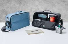 When you are agile working outside the office, the Hotbox 3 enhances your work style by ensuring you have everything you need to hand. Desk Storage, Go Outside, The Office, Work Fashion, Storage Solutions, Office Furniture, Laptop Sleeves, Shoulder Strap, Satchel