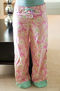 """AMY BUTLER INSPIRED LONG PJ BOTTOMS - FROM HER BOOK """"IN STITCHES""""...DIY"""