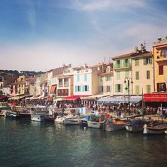 Cassis is a tiny commune in Provence, France. I can't wait to visit here again! I fell in love with it