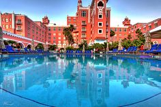 the Don Cesar, St. Petersburg, Florida a must see.famous people from the past have stayed here Places In Florida, Florida Vacation, Florida Travel, Florida Beaches, Travel Usa, St Petes Beach Florida, South Beach Florida, Destin Beach, Florida Sunshine
