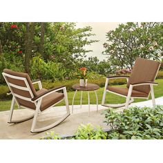 Ormes 3 Piece Rocker Seating Group with Cushion & Reviews | AllModern