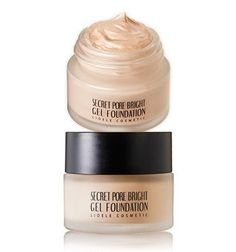 [LIOELE] Secret Pore Bright Gel Foundation (#21 Pure Ivory), 20g, SPF30 PA++, All in One Foundation. Long wearing triple functional foundation: Whitening + UV protection + Lifting. Covering blemishes, fine wrinkles and minimize pores. Flawless skin with skin brightening ingredients. Great coverage with its unique super-smooth creamy texture. Recommended for all skin types.