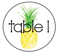 No one wants boring table labels hanging from the ceiling! Sweeten up your classroom with these pineapple themed table signs! DISCLAIMER: I DO NOT OWN THE PINEAPPLE CLIP ART. Please be sure to go visit Waiting on Martha for the original! The font I used is free and called KG True Colors.