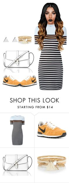 """Untitled #76"" by priscillay5 on Polyvore featuring T By Alexander Wang, L.K.Bennett, River Island and Jennifer Meyer Jewelry"
