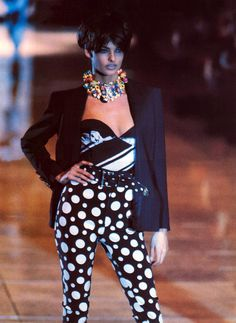 Versace 1991. www.bibleforfashion.com #bibleforfashion
