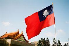Taiwan flag by perahia, via Flickr