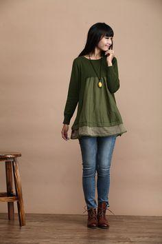 Casual Long Sleeved Knited Sweater Dress Knitwear  by deboy2000, $73.99