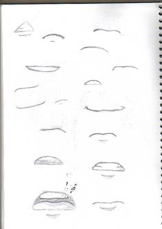 Anime Mouths by CandySlush.deviantart.com