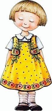 Mary Engelbreit little girl ~ k
