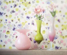 Magenta Collection by Casadeco. #magenta #casadeco #wallpaper #interiordesign