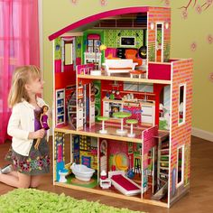 For the little girl dreaming of a dollhouse, we think she'll LOVE this one! Designer Dollhouse, 65156 by KidKraft | BizChair.com
