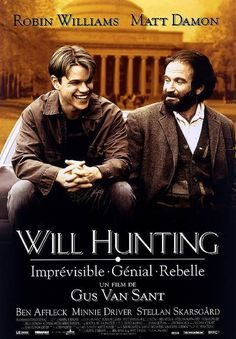 KAGADATO selection. The best in the world. Cinema. **************************************Affiche du film Will Hunting