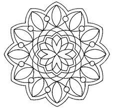 mandala fiore della vita da colorare - Cerca con Google