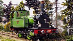 Oldest Steam Locomotive of the Netherlands comes to Stadskanaal Train Engines, Steam Engine, Steam Locomotive, Train Tracks, Interesting Stuff, Paddle, Netherlands, Fun Stuff, Automobile