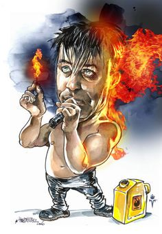 Till Lindemann ♥ this is just too cute