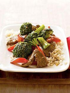 Stir-Fried Beef with Broccoli