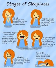 Stages of Sleepiness. Haha so true! Lol So True, Just In Case, Just For You, Tired Quotes, Tumblr, Thats The Way, Infp, Story Of My Life, Just For Laughs