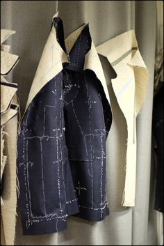 Kenjiro Suzuki - Paris Mens Tailor, Tailor Shop, Tailored Fashion, Tailoring Techniques, Blog Couture, Savile Row, Bespoke Tailoring, Couture Sewing, Sewing Studio