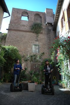 Discovering suggestive corners of Rome