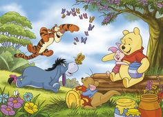 Winnie The Pooh Best Winnie The Pooh 42 In for Winnie The Pooh Roo Winnie The Pooh, Winnie The Pooh Classic, Winnie The Pooh Pictures, Cute Disney Pictures, Winnie The Pooh Quotes, Disney Princess Pictures, Pooh Bear, Eeyore, Tigger