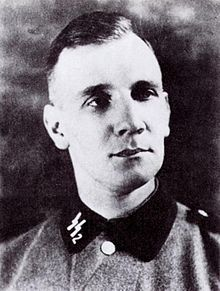 Kurt Gerstein (August 11, 1905 – July 25, 1945) was a German SS officer and member of the Institute for Hygiene of the Waffen-SS. He witnessed mass murders in the Nazi extermination camps Belzec and Treblinka. He gave information to the Swedish diplomat Göran von Otter, as well as to members of the Roman Catholic Church with contacts to Pope Pius XII, in an effort to inform the international public about the Holocaust.