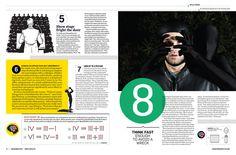 Men's Health Mind Package by Claudia de Almeida, via Behance