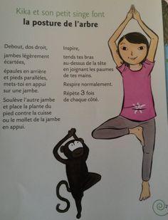 12 meilleures images du tableau Yoga enfants  afebb08e20e