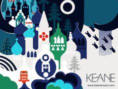 Keane - Under the Iron Sea illustrations