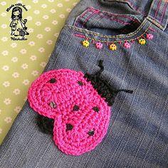 Ravelry: Ladybug pattern by Vendula Maderska