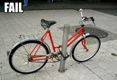 Die 4 Fun: Bike lock up fail
