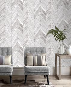 Graham /& Brown Distressed Foil Silver Shimmer Paste the Wall Wallpaper