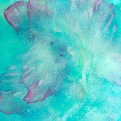 """Sky Pond 2"" Print on Acrylic - square home decor"