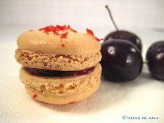 Cherry Margarita Macarons