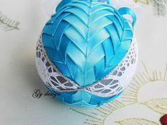 Pizzo ornamento trapuntato ornamenti palle natale di Gydesi