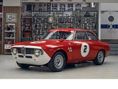 Alfa Romeo Giulia Sprint GTA Competition
