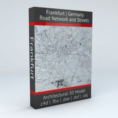 Frankfurt Road Network and Streets | 3D model