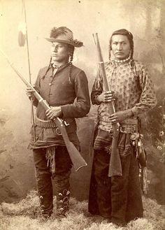Three Irons and Son. Crow. Photo by Thomas Nathan Barnard. Montana. ca. 1890