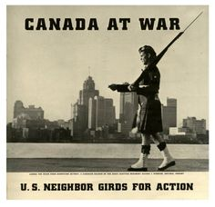 WWII canada at war