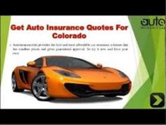 Auto Insurance Quotes Colorado Inspiration Compare Cheap Car Insurance Quotes  Watch Video Here  Http .