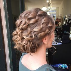 40 Lovely Curly Updos — Easy and Beautiful Hairstyles for Curly Hair