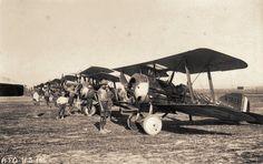 2 Vickers F.B. 19 Mk.II, of Number 47 Squadron RFC. At Florina